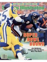 Sports Illustrated, January 20, 1986 - Jim McMahon, Chicago Bears
