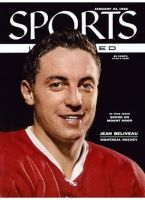 Sports Illustrated, January 23, 1956 - Montreal Canadiens