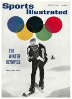 Sports Illustrated, January 27, 1964 - America's Downhill Skier Buddy Werner in the Winter Olympics