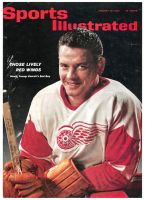 Sports Illustrated, January 28, 1963 - Howie Young, Detroit Red Wings hockey