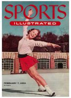 Sports Illustrated, February 7, 1955 - Carol Heiss- female figure skater