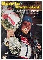Sports Illustrated, February 10, 1964 - Innsbruck Olympics
