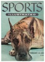 Sports Illustrated, February 14, 1955 - Great Dane
