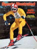 Sports Illustrated, February 16, 1976 - Franz Klammer, Downhill Skier