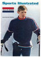 Sports Illustrated, February 21, 1966 - Jean-Claude Killy, skiing