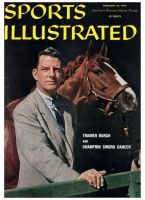 Sports Illustrated, February 22, 1960 - Elliot Burch, Horse Trainer