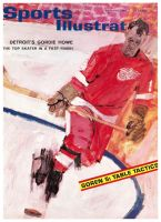 Sports Illustrated, March 16, 1964 - Gordie Howe; Detroit Red Wings