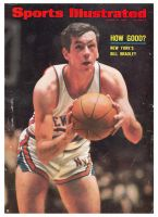 Sports Illustrated, March 18, 1968 - Bill Bradley, NY Knicks