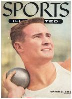 Sports Illustrated, March 21, 1955 - Parry O'Brien - shotput