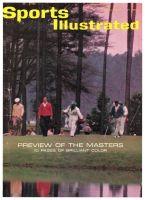 Sports Illustrated, April 1, 1963 - Ken Venturi, golf; Masters Preview
