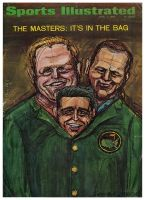 Sports Illustrated, April 4, 1966 - Jack Nicklaus/Arnold Palmer, golf Masters