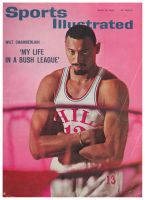 Sports Illustrated, April 12, 1965 - Wilt Chamberlain of the Philadelphia 76ers