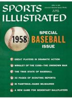 Sports Illustrated, April 14, 1958 - Chicago Cubs