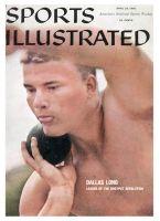 Sports Illustrated, April 25, 1960 - Dallas Long (Shotput)