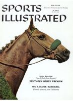 Sports Illustrated, April 28, 1958 - Silky Sullivan, Horse racing, Kentucky Derby