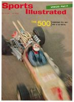 Sports Illustrated, May 31, 1965 - Lloyd Ruby, auto racing, Indy 500