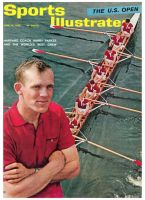 Sports Illustrated, June 28, 1965 - Harvard crew coach Harry Parker and team