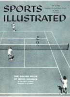 Sports Illustrated, June 30, 1958 - Tennis Doubles