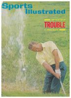 Sports Illustrated, July 26, 1965 - Arnold Palmer blasting it out of a creek