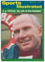 Sports Illustrated, August 16, 1965 - Y. A. Tittle