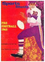 Sports Illustrated, September 13, 1965 - Fran Tarkenton of the Minnesota Vikings