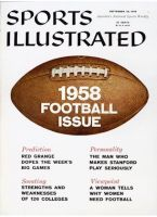 Sports Illustrated, September 22, 1958 - College Football