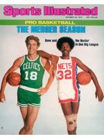 Sports Illustrated, October 25, 1976 - Dave Cowens and Julius Erving