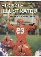 Sports Illustrated, October 27, 1958 - Syracuse football