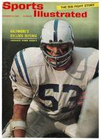 Sports Illustrated, November 29, 1965 - Dennis Gaubatz of the Baltimore Colts