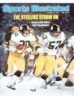 Sports Illustrated, December 6, 1976 - Rocky Bleier, Pittsburgh Steelers