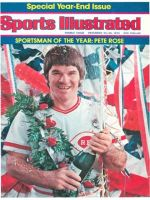 Sports Illustrated, December 22, 1975 - Pete Rose, Cincinnati Reds