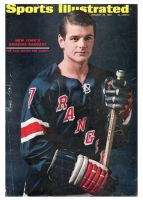 Sports Illustrated, January 30, 1967 - Rod Gilbert, (Hockey)