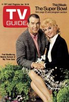 TV Guide, January 10, 1970 - Fred MacMurray,