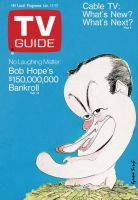 TV Guide, January 11, 1969 - No Laughing Matter: Bob Hope's $150,000,000 Bankroll
