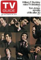 TV Guide, January 24, 1970 - Tom Jones