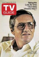TV Guide, February 12, 1972 - Arthur Hill of 'Owen Marshall: Counselor at Law'