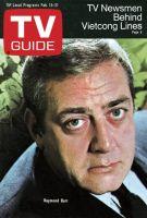 TV Guide, February 15, 1969 - Raymond Burr