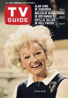 TV Guide, February 25, 1967 - Phyllis Diller in Hollywood