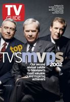 TV Guide, March 9, 2002 - News Anchors
