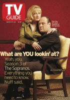 TV Guide, March 17, 2001 - The Sopranos