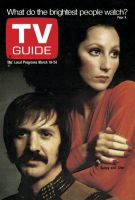 TV Guide, March 18, 1972 - Sonny and Cher