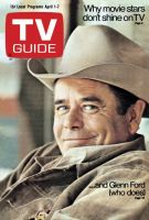 TV Guide, April 1, 1972 - Glenn Ford