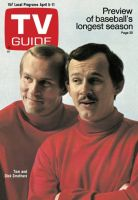 TV Guide, April 5, 1969 - Tom and Dick Smothers