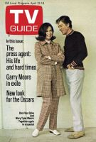 TV Guide, April 12, 1969 - Dick Van Dyke and Mary Tyler Moore