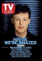 TV Guide, May 5, 2001 - Paul McCartney