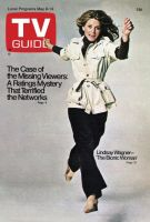 TV Guide, May 8, 1976 - Lindsay Wagner 'The Bionic Woman'