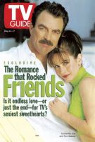 TV Guide, May 11, 1996 - Tom Selleck and Courteney Cox