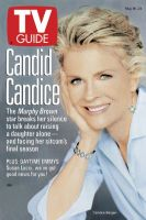 TV Guide, May 18, 1996 - Candice Bergen