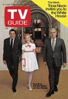 TV Guide, May 23, 1970 - Tricia Nixon with Mike Wallace and Harry Reasoner