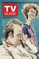 TV Guide, May 27, 1972 - Carroll O'Connor, Jean Stapleton of 'All in the Family'